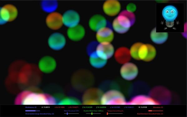 eSense Bubble Stream
