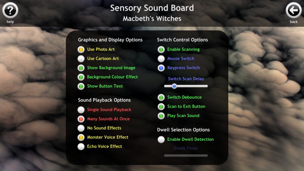 Desktop Settings Macbeth Sound Board