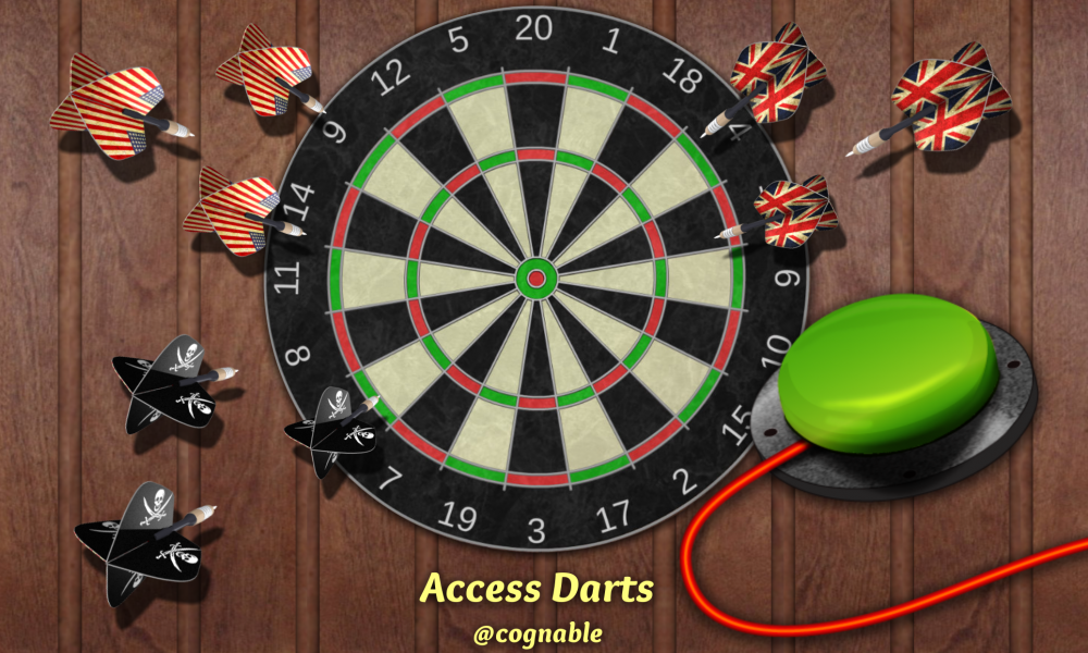 Access Darts Splash Screen